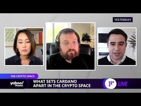 Cardano founder and ethereum co-founder discusses crypto innovation, sustainability, and progress
