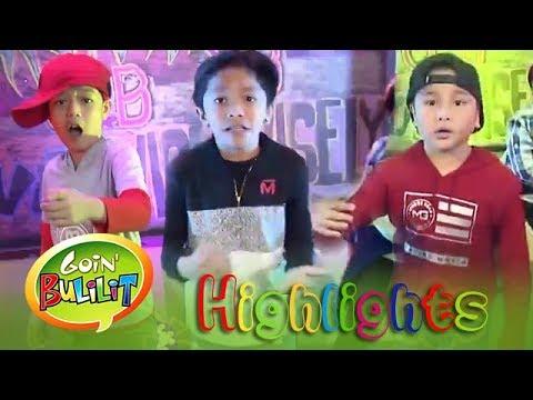Goin' Bulilit Kids perform rap songs in Bow wow wow   Goin' Bulilit