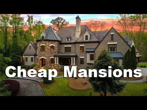 ATLANTA MANSIONS PART 3 - Million Dollar Homes From $1.2 Million To $2.5 Million
