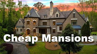 ATLANTA MANSIONS PART 3 - Million Dollar Homes from $1.2 Million to $2.5 Million