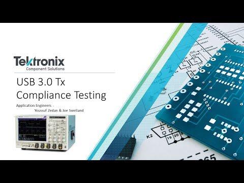 USB 3.0 Tx Compliance Testing With TekExpress