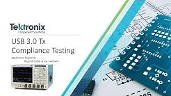USB 3.0 Tx Compliance Testing with TekExpress