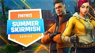 MA 1ERE GAME EN DUO AVEC NOKSS AU SUMMER SKIRMISH (FORTNITE BATTLE ROYALE GAMEPLAY)