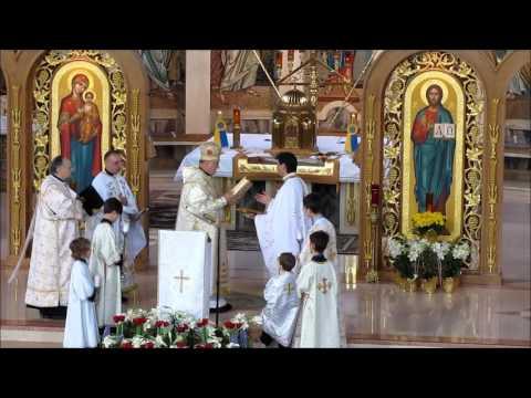 Easter 2017 Ukrainian Catholic Cathedral Philadelphia with Metropolitan Stefan