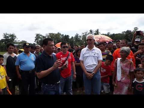 Duterte in Maribojoc