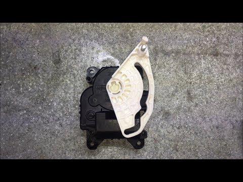 2005-2010 Honda Odyssey Passenger Side A/C Blend Motor Actuator Replacement DIY