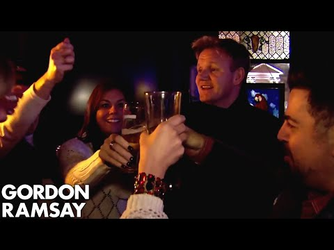 Download Youtube: Gordon Takes Nervous Owner Ken Out to the Bar to Meet Women! | Hotel Hell