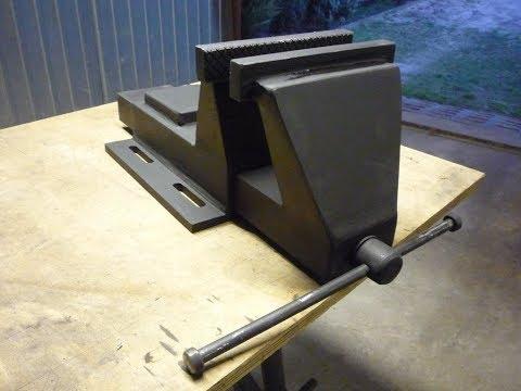 Budowa imadła stalowego, Imadło stalowe, homemade steel vise