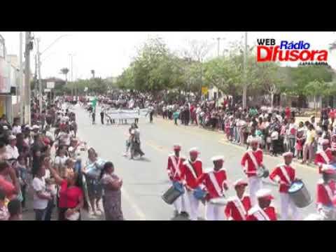 7 de setembro desfile da independência do Brasil em Lapão-Ba