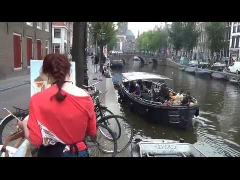 Pintar Rapido Amsterdam 2014 Outdoor Painting Competition Part 4/5