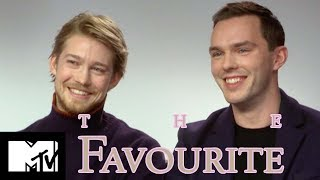 Joe Alwyn & Nicholas Hoult Go Speed Dating | The Favourite | MTV Movies