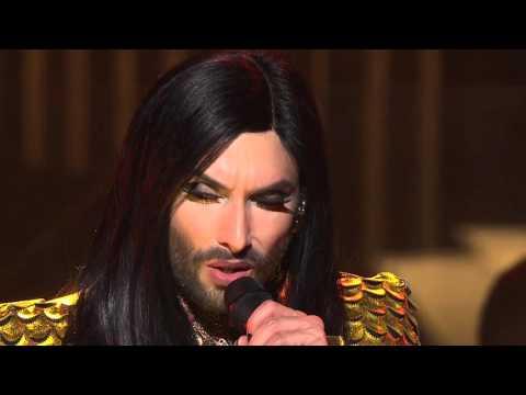 Conchita performs Rise