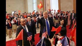 Tổng bí thư, Chủ tịch nước Nguyễn Phú Trọng đã tiếp Tổng thống Mỹ Donald Trump