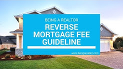 Reverse Mortgage Fees Guideline