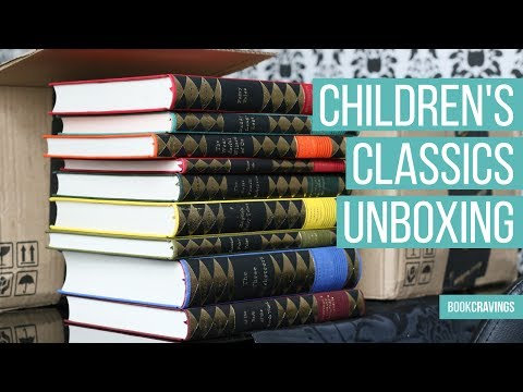 Huge Everyman's Library Children's Classics Unboxing | BookCravings