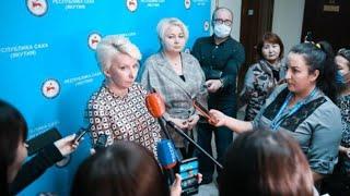 Брифинг оперштаба об эпидемиологической обстановке в республике: Трансляция «Якутия 24» Подробнее на