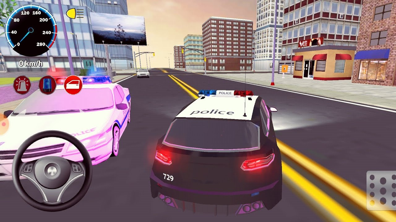 Turk Polis Araba Oyunlari Police Car Games Youtube