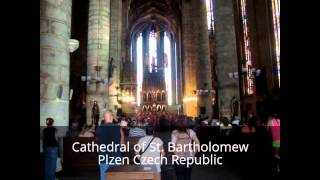 Cathedral of St. Bartholomew - Childrens choir - Plzen Czech Republic