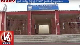 Special Report On Problems in KU Engineering College   Warangal   Reporter