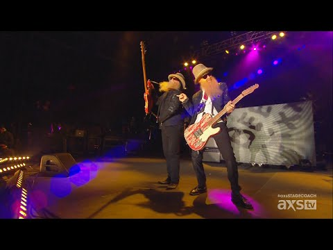 ZZ Top Live Stagecoach California's Country Music Festival 2015 HD