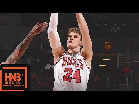 Cleveland Cavaliers vs Chicago Bulls Full Game Highlights | 12/23/2018 NBA Season
