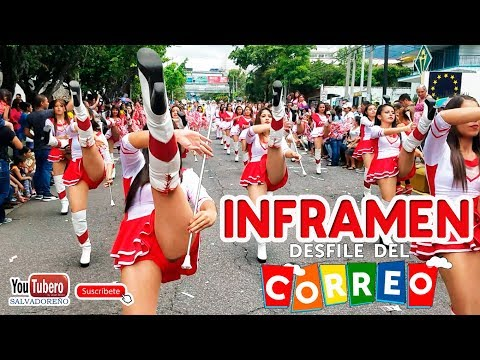 [YOUTUBERO] El desfile del Correo fiestas agostinas de San Salvador el Salvador