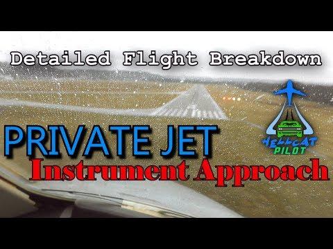 Business Jet Instrument Approach & Landing - Detailed Flight Training Breakdown
