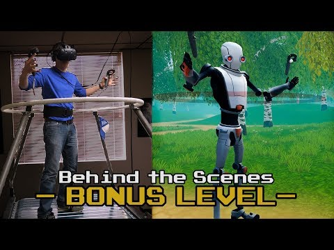 Infinadeck Omnidirectional Treadmill - Behind The Scenes - Smarter Every Day VR Series