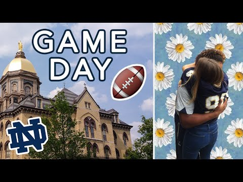 NOTRE DAME GAME DAY!