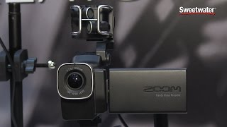 zoom q8 video recorder sweetwater at winter namm 2015