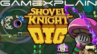 Shovel Knight Dig DIRECT FEED Demo Gameplay (Nintendo Switch)