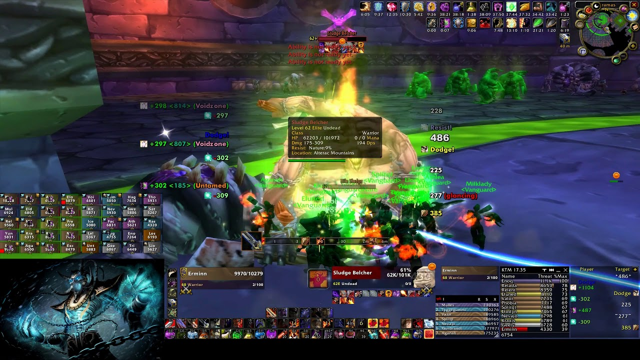 Naxxramas server-first clear by guild