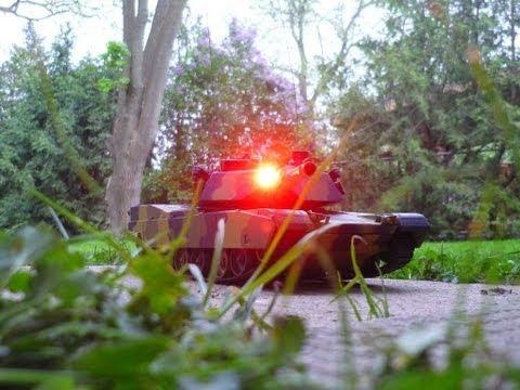 1/24 Scale M1A2 ABRAMS RC Tank