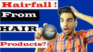 DO hair Styling Products CAUSE HAIR FALL? MYTH BUSTED in this video | HAIR PRODUCTS IN INDIA