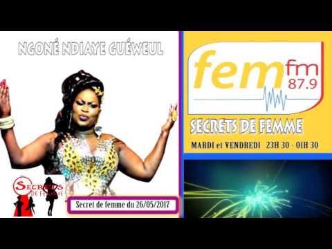 secret de femme du 26/05/2017 sur FEM FM 87.9