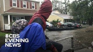 Former Marines forced to flee flooded North Carolina neighborhood