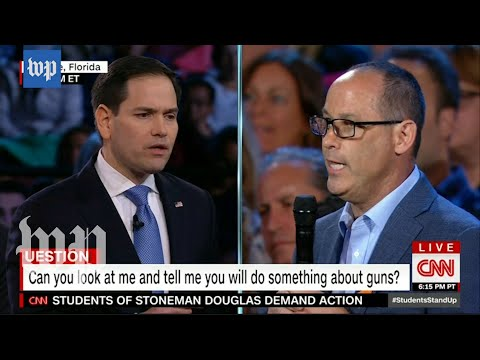 Parent of Fla. shooting victim slams Rubio for 'pathetically weak' comments