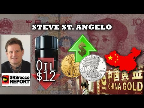 Yuan in IMF SDR Basket Oct 1 will Change World Financial System Forever - Steve St. Angelo Interview
