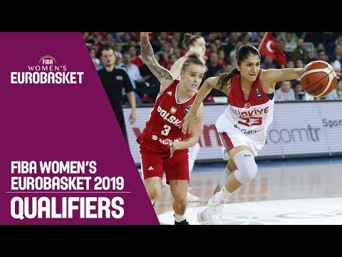Turkey v Poland - Full Game - FIBA Women's EuroBasket 2019 Qualifiers