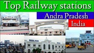 Top 10 Railway stations Andhrapradesh,India आँध्रप्रदेश के 10 लोकप्रिय रेलवे स्टेशन
