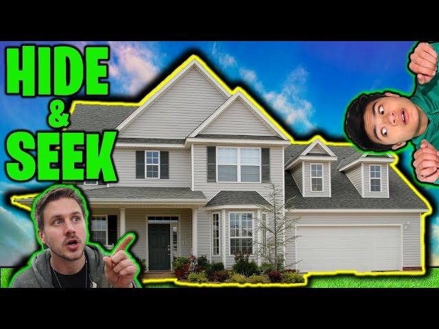 HIDE and SEEK in MoreJStu's HOUSE!