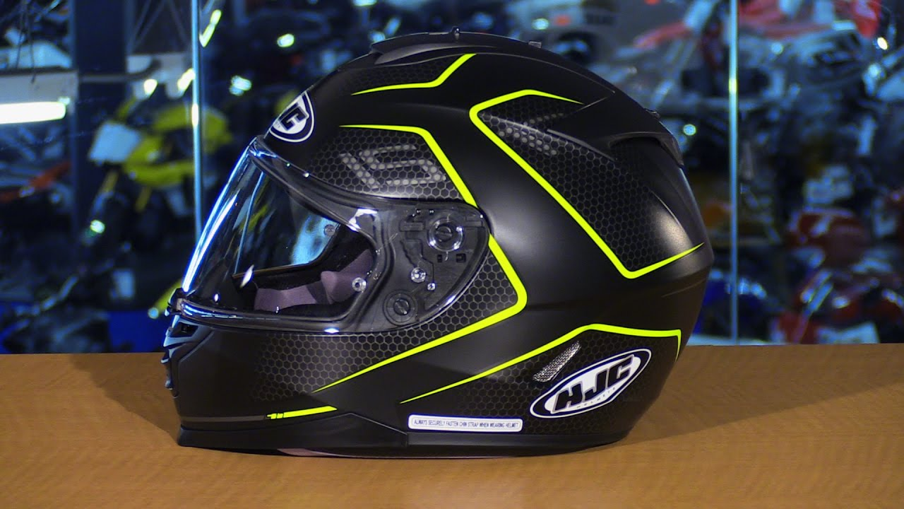 hjc is 17 lank full face motorcycle helmet review youtube. Black Bedroom Furniture Sets. Home Design Ideas