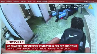 No Charges To Be Filed Against Officers Involved In Knoxville High School Shooting