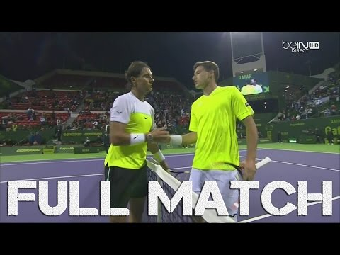Doha Open 2016 : Rafael Nadal vs Pablo Carreño-Busta (1/16 Finale), FULL MATCH HD