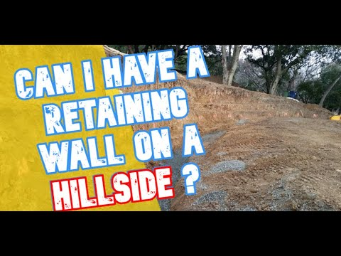 Hillside Retaining Wall Construction - All Access 510-701-4400