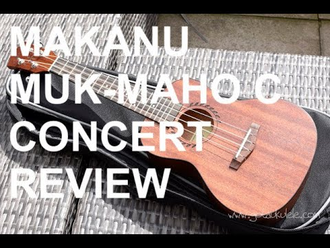 Got A Ukulele Reviews - Makanu 24 Inch Mahogany Concert