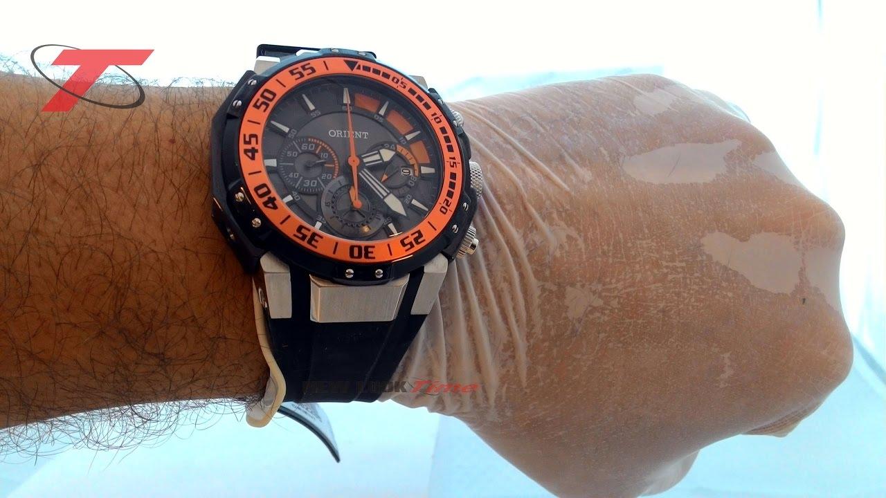 18c0aa14059 RELÓGIO MASCULINO ORIENT MBSPC026 POPX - New Look Time Relógios - YouTube