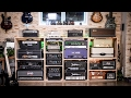 Building the new amp wall - Timelapse