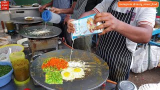 Four in One Fry Omelette || Jay Bho...