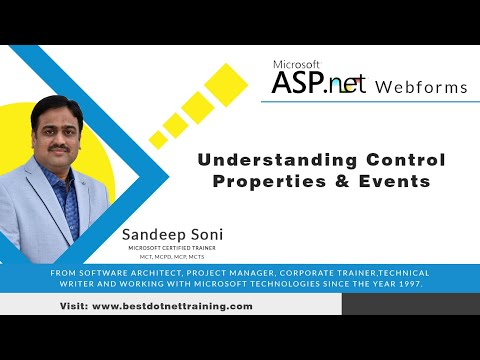 ASP.Net Tutorial for Beginners | Understanding Control Properties and Events in Asp.net 04
